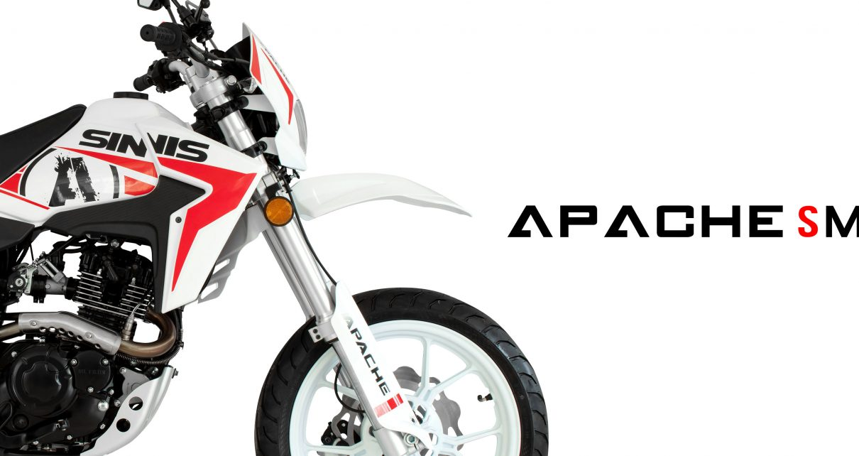 Sinnis Apache White Red 2019 Model Banner