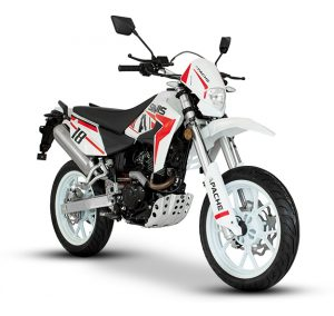 link to Sinnis Apache White Red 2019 Model Right Side Front