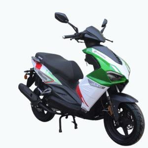 Motorini Misano 50i - Green