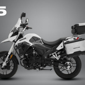 SINNIS T125 ARCTIC WHITE