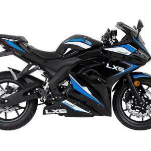 Lexmoto LXS 125 Black Blue Right