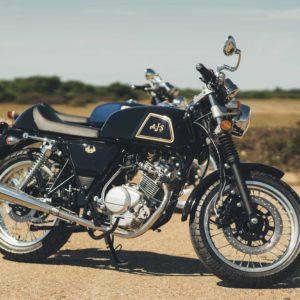 AJS Cadwell 125 125cc Jet Black