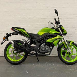Benelli BN 125 125cc Flash Green
