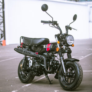 Bullit Heritage 50 50cc Black