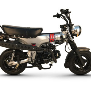 Bullit Heritage 50 50cc Silver
