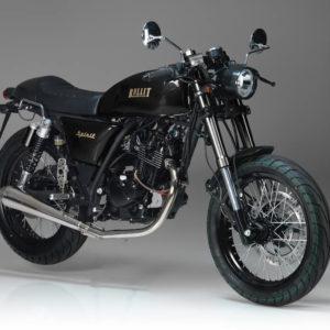 Bullit Spirit 125 125cc Black / Gold