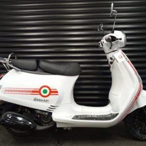 Neco Azzuro GP 50 50cc Matt Grey