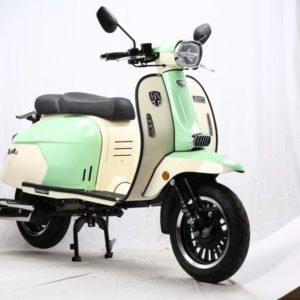 Royal Alloy GP 125 CBS AC 125cc Mint Green / White
