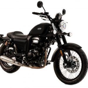 Sinnis Outlaw 125cc Black